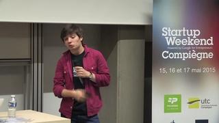 Startup Weekend - Conférence Nicolas Borri