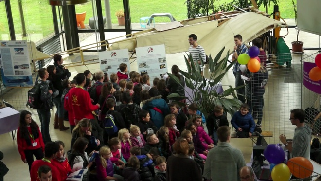 Fête de la science 2015 - Un avion à l'UTC