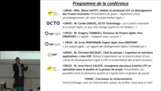 Agile UTC 2015 - Lancement de la conférence