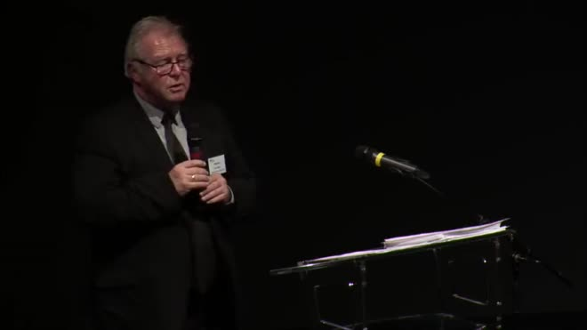 Allocution et clôture du Président, Alain Storck - Cérémonie de remise des diplômes 2016