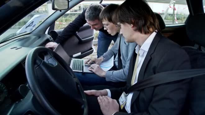 Les voitures communicantes à l'UTC
