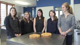 Projet étudiant : un gâteau basque allégé et sans gluten