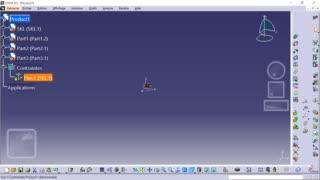 Méthodologie squelette CATIA 01 - Création de la structure produit