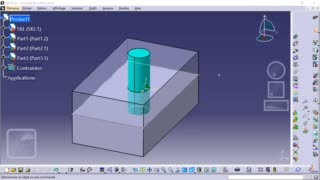 Méthodologie squelette CATIA 05 - Modification du squelette