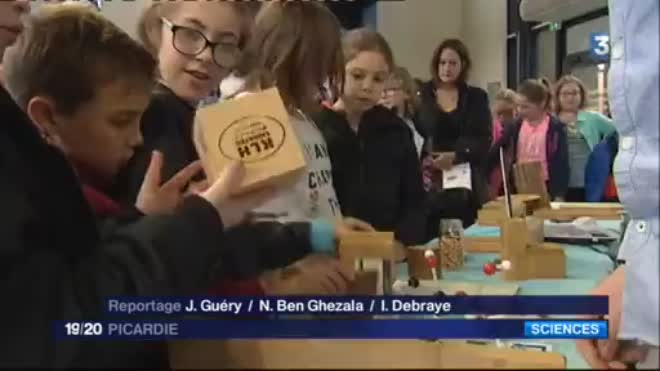 Fête de la Science 2017 - France 3 Picardie