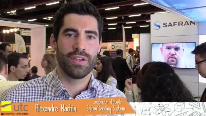 Alexandre Machin - Génie des systèmes mécaniques 2011