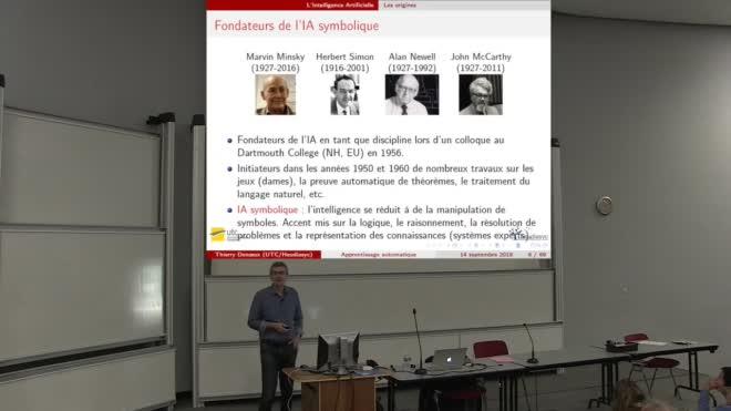 Leçon inaugurale sur l'introduction à l'apprentissage automatique