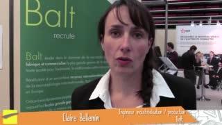 Claire Bellemin - Génie biologique 2009