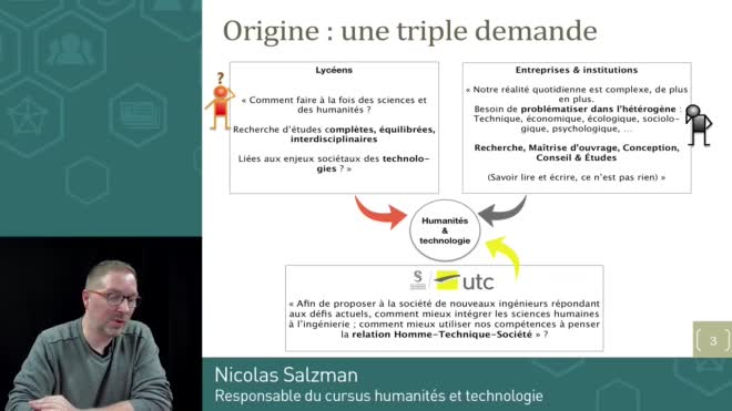 Présentation du cursus Humanités et Technologie