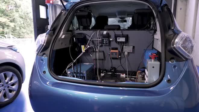 les véhicules intelligents du laboratoire Heudiasyc