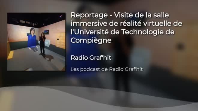 Visite de la salle de réalité virtuelle